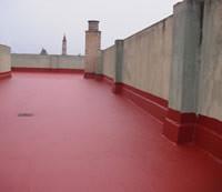 Impermeabilización de terraza de comunidad.
